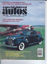 SPECIAL INTEREST AUTO - #84 / 1937 Chrysler Imperial / 1963 Pontiac Grand Prix +