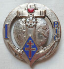 Insigne 1° RIC INDOCHINE Régiment Infanterie Coloniale DRAGO OM DEPOSE ORIGINAL