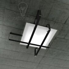 PLAFONIERA/APPLIQUE TOP LIGHT MODELLO CROSS 1106/70 - NE (NERO)