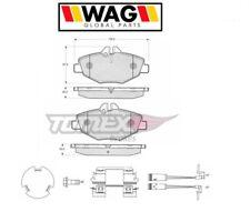 1429 Kit pastiglie freno a disco ant.Mercedes (W211) (MARCA-WAG)