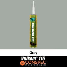 Vulkem 116 Gray Polyurethane Sealant Adhesive Caulk - 10.1 oz Tube Free Shipping
