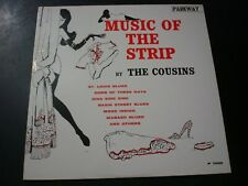 THE COUSINS MUSIC OF THE STRIP LP RECORD PROMO VG++