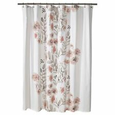 Threshold Coral Blooms Floral  Shower Curtain