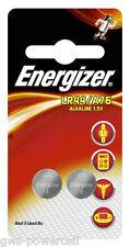4 x Energizer LR44 / A76 / 13GA Alkaline Blister NEU Batterie 2x 2er Blister