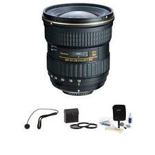 Tokina 12-28mm f/4.0 AT-X Pro APS-C Lens for NIKON With Accessory BUNDLE