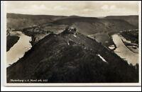 Marienburg an der Mosel RLP Postkarte ~1935/40 Fernblick auf die Burg ungelaufen