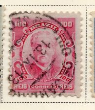 Brazil 1906-15 Early Issue Fine Used 100r. NW-11984