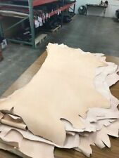FULL GRAIN TOOLING VEG TAN NATURAL LEATHER THICKNESS 12/13 OZ--14/16 OZ
