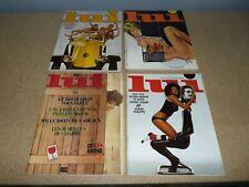 lot 4 ancien vintage magazine revues lui erotica érotique n° 93 94 95 96 (14)