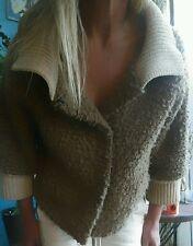 Scanlan and Theodore ALPACA Wool Cardigan Jacket Sz S/M