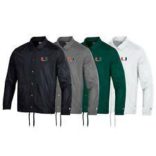 Miami Hurricanes NCAA Men's Champion Classic Coaches Jacket Collection