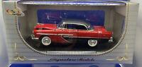 1:32 Signature Models No 32341. - 1956 PLYMOUTH Hardtop Red  BNIB On Plinth