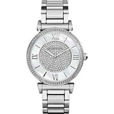 Michael Kors Women's MK3355 Caitlin Silver Crystal Pave Dial Watch