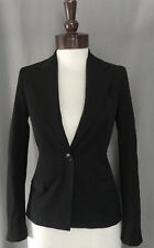 XS DIESEL Jeans all BLACK GOLD Wool Blazer Dress Jacket Women Suit Lace saints s