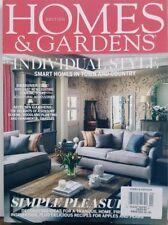 Homes & Gardens UK Nov 2017 Individual Style Smart Homes FREE SHIPPING CB