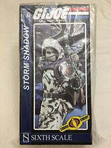 Sideshow Collectibles Sixth Scale G.I.Joe 1/6 STORM SHADOW Cobra Figure NEW HEAD
