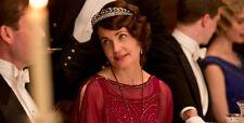 NEW - Leaf Crown Tiara w/ Silver Rhinestones - Downton Abbey - Lady Cora