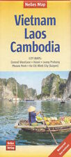 Nelles Vietnam, Laos & Cambodia Map *FREE SHIPPING - IN STOCK - NEW*