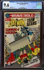 Brave and the Bold # 102 CGC 9.6 OWW (DC, 1972) Twin Cities Pedigree