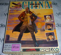 Commodore AMIGA 100% Complete HEART OF CHINA Big Box Dynamix 1991 9 Disk! Sierra