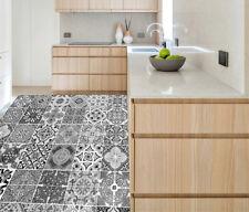 3D Tile Risers Floor Wall Sticker Mural Vinyl Decal Wallpaper Decor 100*100CM