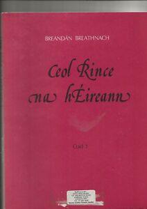 CEOL RINCE NA hEIREANN - VOLUME 1 - DANCE MUSIC JIGS IRELAND