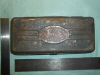 "ANTIQUE ""CRAFTSMAN"" METAL CASE BOX FOR 1/4"" SOCKET RATCHET EXTENSION BREAKER"