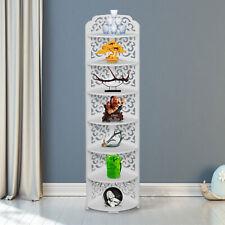 7 Tier Shelves Corner Shelf Stand Rack Storage Organizer Home Furniture Bookcase
