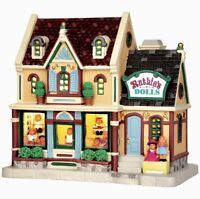 Lemax Caddington Village RUTHIE'S DOLLS #45709 BNIB Lighted Building