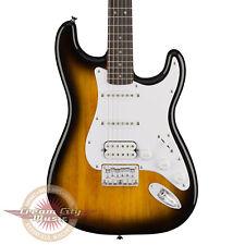 Brand New Fender Squier Bullet Stratocaster HSS Hard Tail in Sunburst