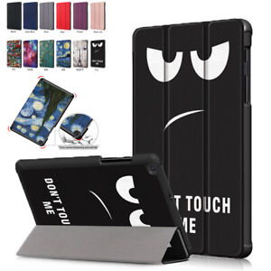 Painted Stand Folio Case Cover for Samsung Galaxy Tab A 8.0 2019 SM-T290 T295