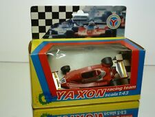 YAXON 0700 FERRARI 312 T2  REUTEMAN- F1 #11 RED 1:43 -  GOOD CONDITION IN BOX
