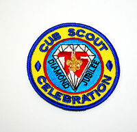 75th Cub Scouts Scout Diamond Jubilee Camporee Patch NOS Unused