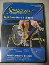 CYCLING DVD Indoor workout Spinervals 16.0 Aero Base Builder 1 bicycle spin WOW