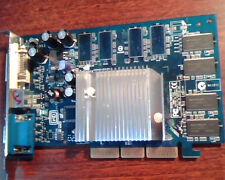 AGP card GeForce FX5200 AGP8X 128MB DDR TV DVI VGA V2.0 Nvidia P162