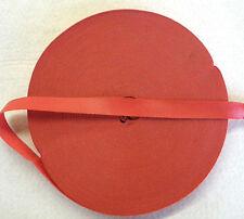 Einfaßband -- Kunstleder  ---   rot   --