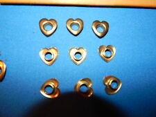 HEART SHAPED EMBELLISHMENTS-25 PIECES