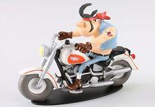 "MOTO 1/18 HARLEY DAVIDSON  1340 JOE BAR TEAM ""Hercule Butter"" RESINE"