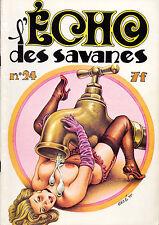 REVUE L'ECHO DES SAVANES N°24 SEPTEMBRE 1976