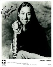 Olympic Swimming Champ JANET EVANS Signed Photo