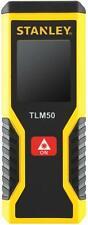 Stanley TLM50 15 Metre Laser Distance Measurer (distance/area/volume) 2 x AAA's