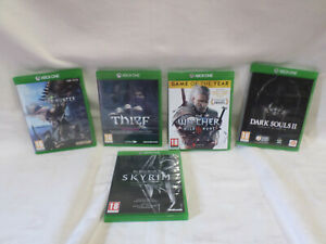 5 x Microsoft Xbox One Video Games Bundle No Repeats
