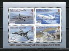 AVIATION, PLANES: ROYAL AIR FORCE ON FALKLAND ISLANDS 2008 Scott 965, MNH
