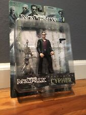 Matrix The Film, Cypher Action Figure 1999 MINT, Unopened New in Box, RARE.