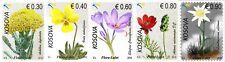 Kosovo Stamps 2018. Flora, Flowers. Set MNH
