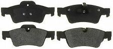 ACDelco 17D1122M Rear Semi Metallic Brake Pads