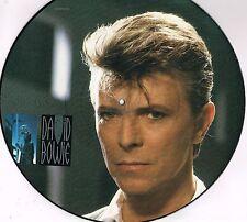 "DAVID BOWIE loving the alien U.K. EMI 12"" PICTURE DISC 45rpm_1985 EAP-195"