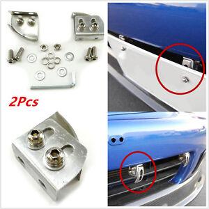 Car Angle Adjustable Bumper License Plate Relocator Bracket Holder Mount Support