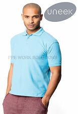 Uneek UC102 Premium Quality Polo Shirt Mens Casual Workwear Top 250gsm Weight