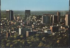 Vintage 1970's Birmingham, Alabama Downtown From Atop Red Mountain Postcard